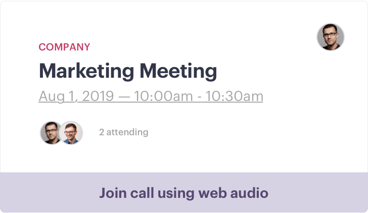 Conference Callout
